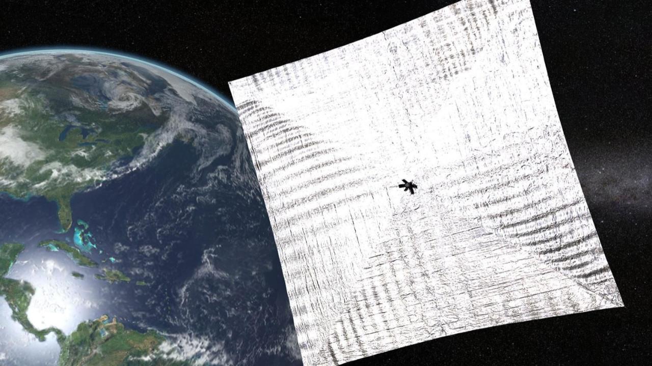 LightSail 2 Dünya'ya ilk fotoğrafları gönderdi!