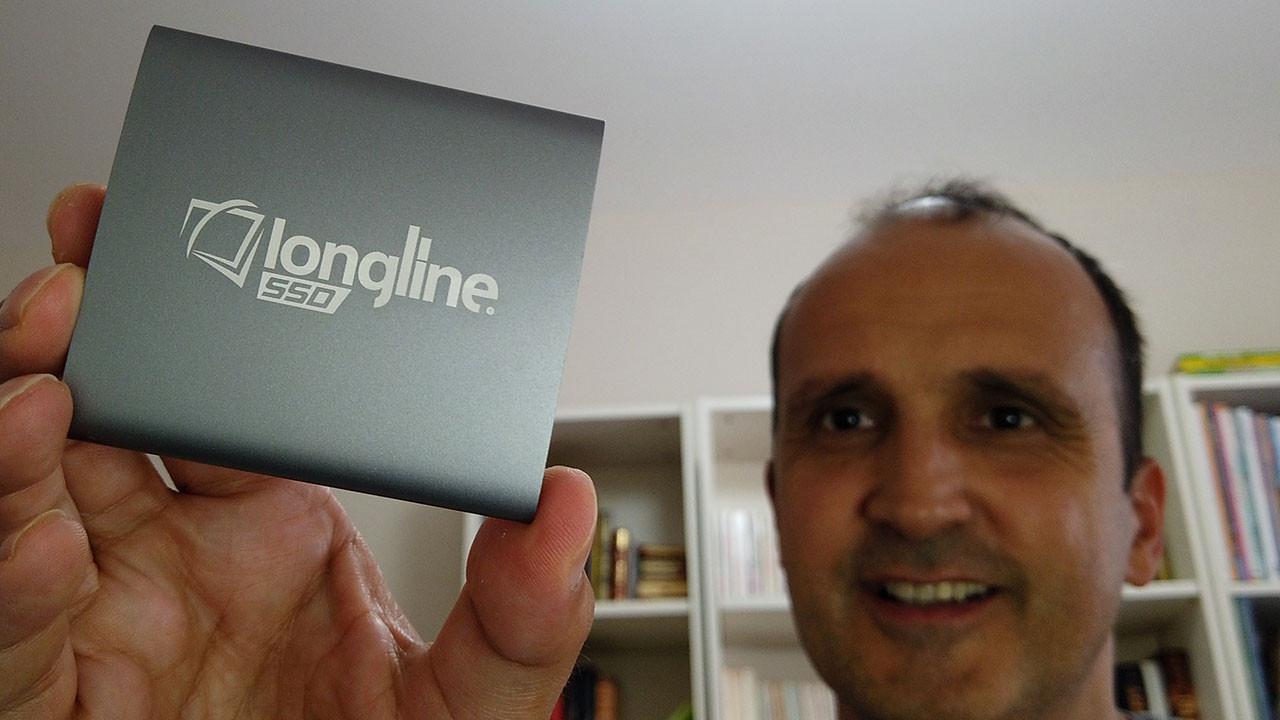 Longline 128 GB SSD kutudan çıkıyor (video)