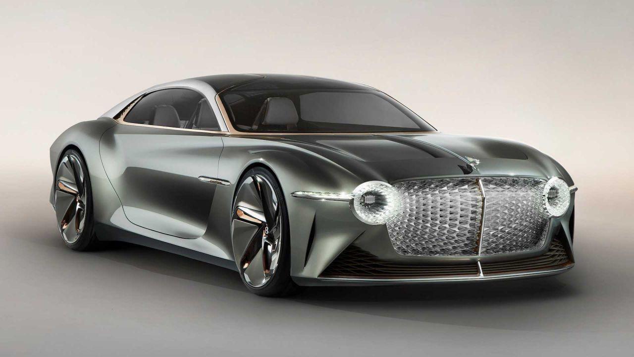 100. yıl için özel tasarım Bentley EXP 100 GT - Page 2