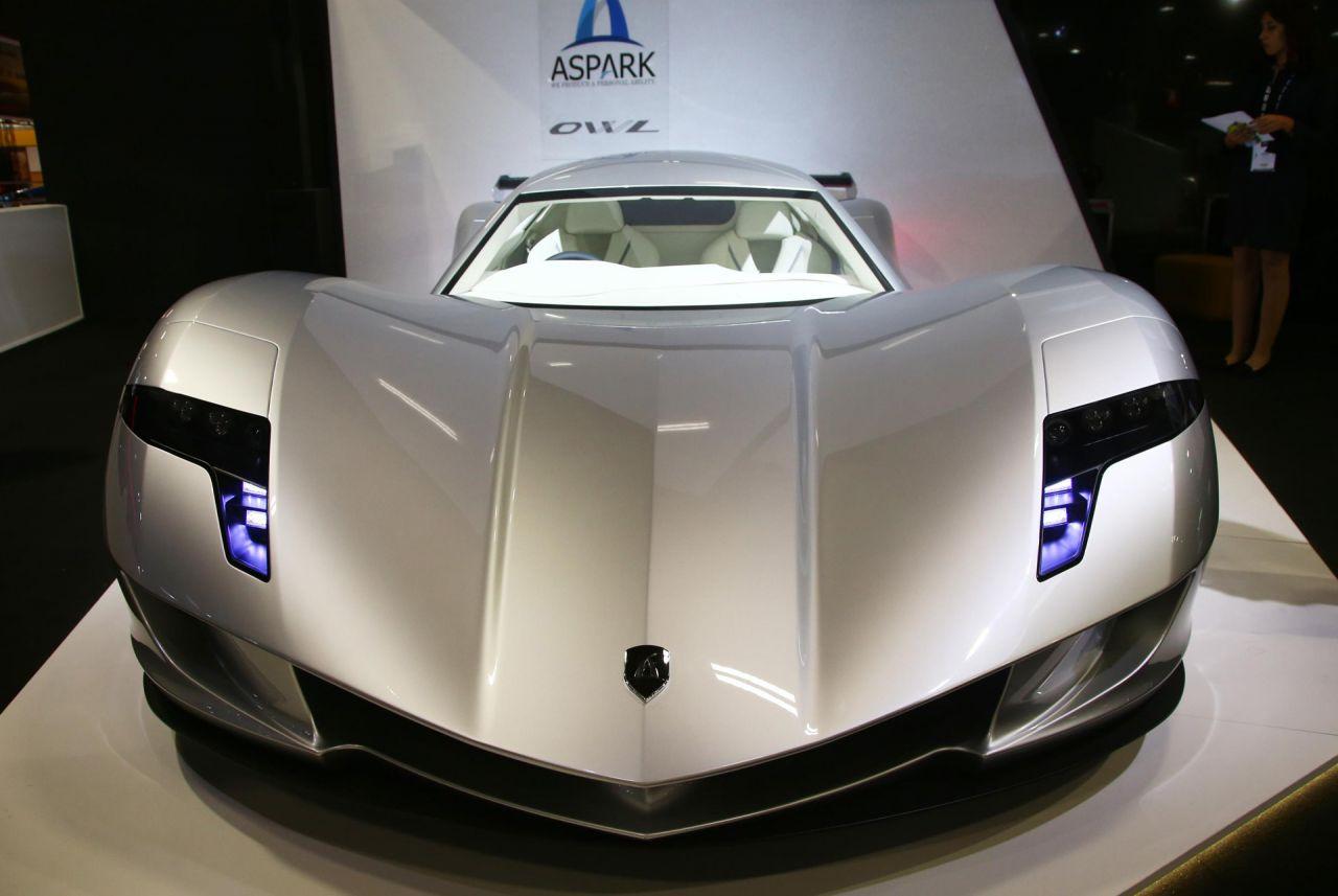 Dünyanın en pahalı elektrikli otomobili: Aspark Owl - Page 1