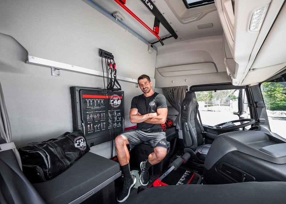 IVECO'dan TIR şoförlerine spor salonu: Fit Cab - Page 4