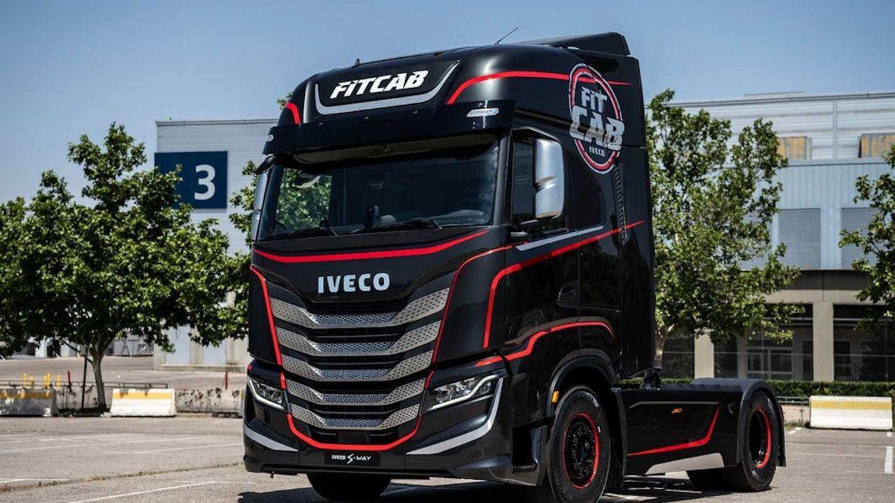 IVECO'dan TIR şoförlerine spor salonu: Fit Cab - Page 1