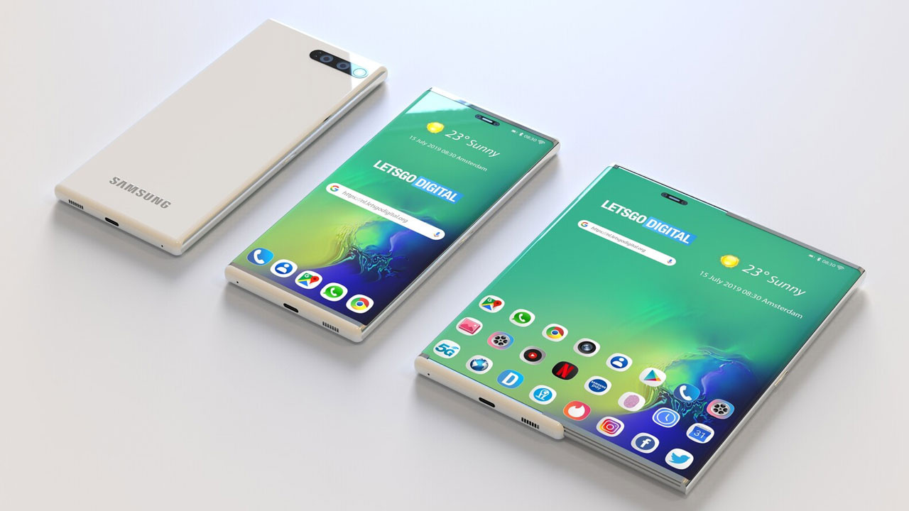 Samsung sürgülü ekran patenti aldı