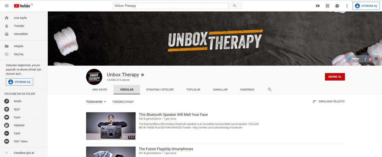 Youtube'da takip edebileceğiniz en iyi yabancı teknoloji kanalları - Page 1