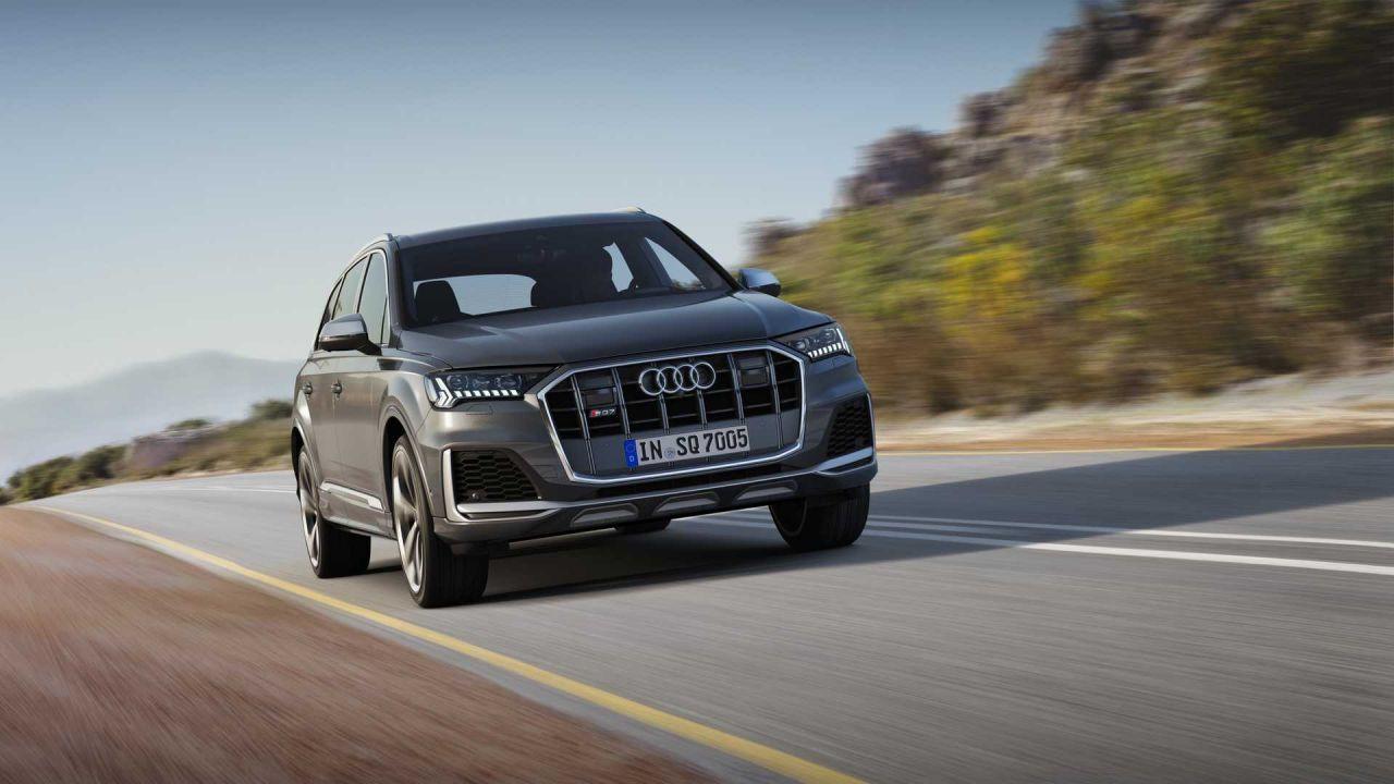 Güncellenen tasarımıyla 2020 Audi SQ7 TDI tanıtıldı - Page 1