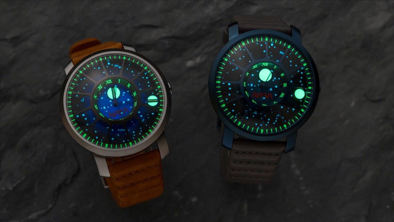 NASA ve Xeric'ten Ay'a inişin 50. yıl dönümüne özel saat tasarımı
