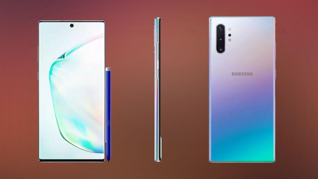Samsung Galaxy Note 10 bugün tanıtılıyor