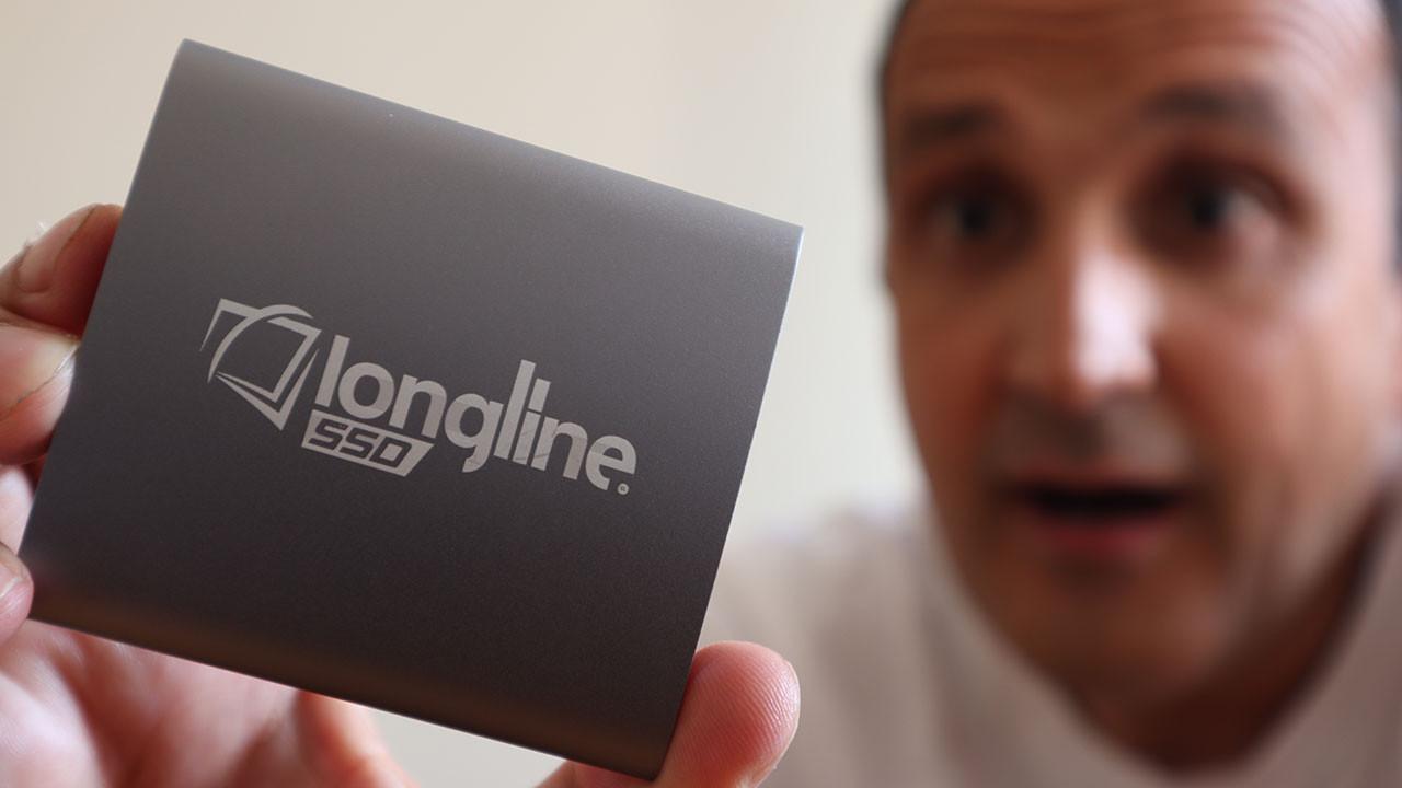 Longline 128 GB SSD harici depolama çözümünü test ettik (video)
