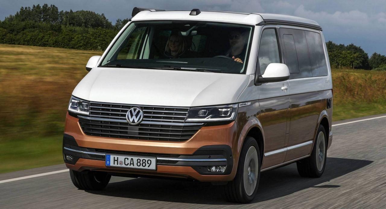 Kamp için ideal karavan 2020 Volkswagen California - Page 1