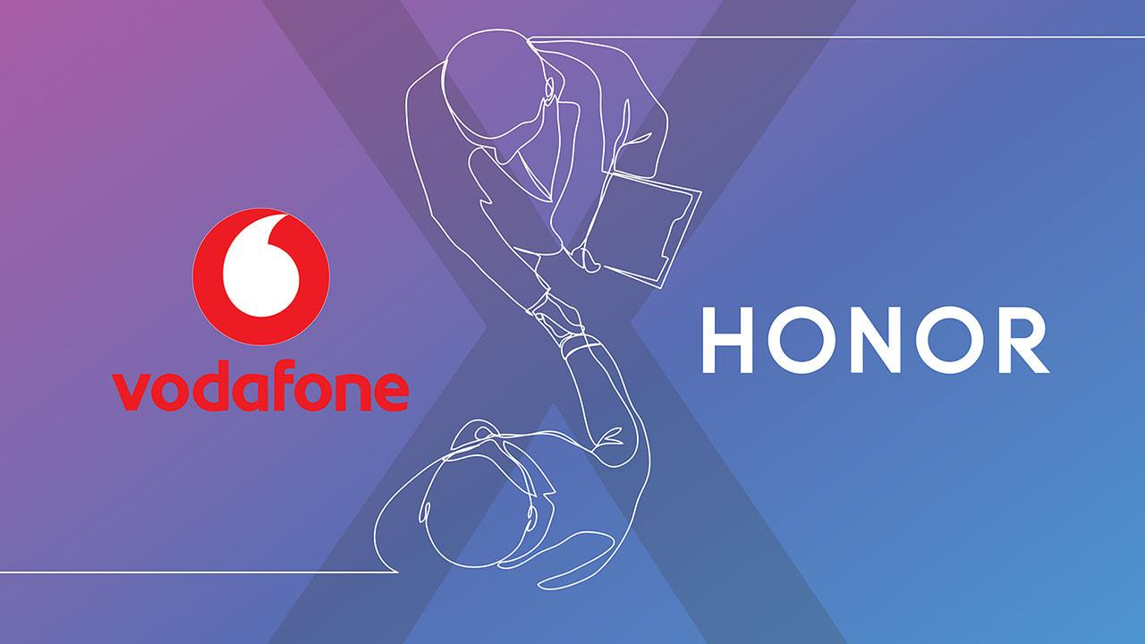 HONOR şimdi Vodafone'da