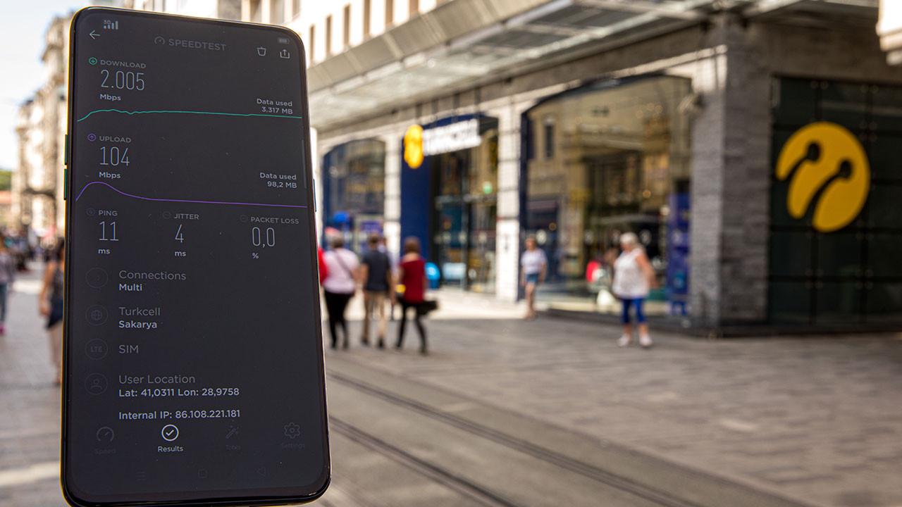 Turkcell 5G testi gerçekleştirdi