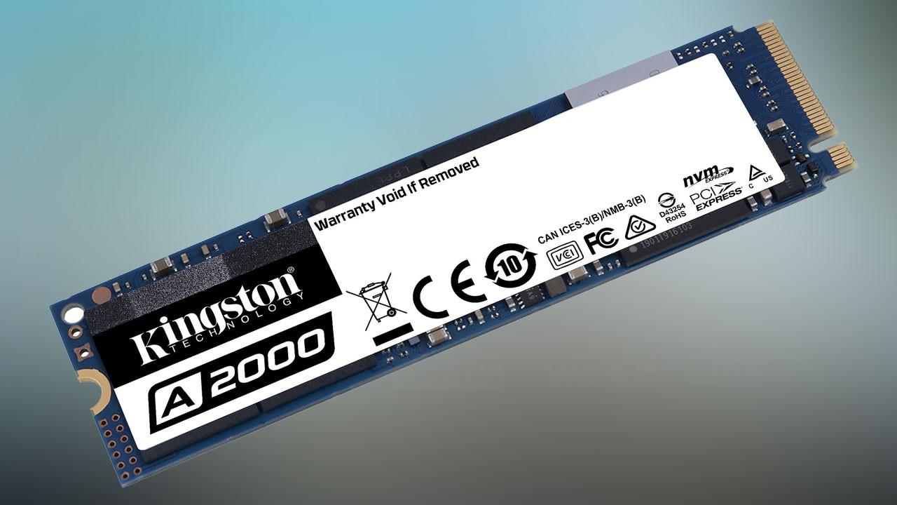 Kingston'dan yüksek performanslı PCIe NVMe SSD: A2000