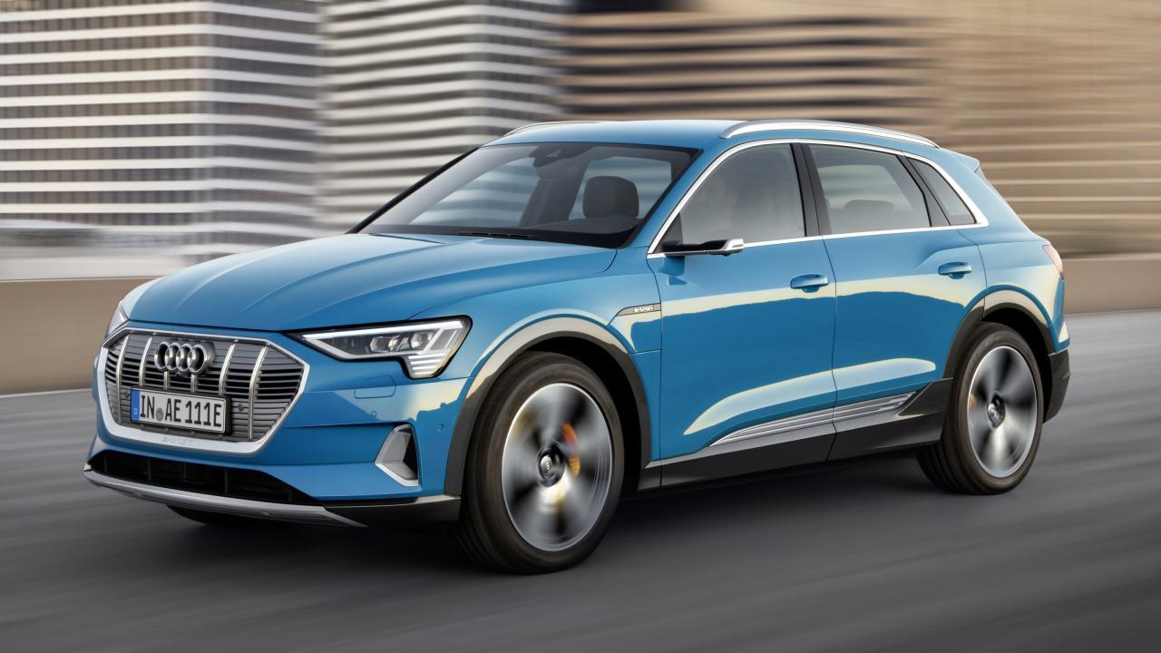 Audi E-Tron üst düzey güvenlik ödülünü aldı