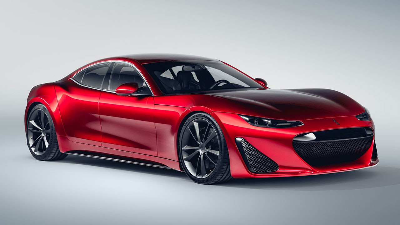 1200 beygir gücünde elektrikli otomobil: Drako GTE
