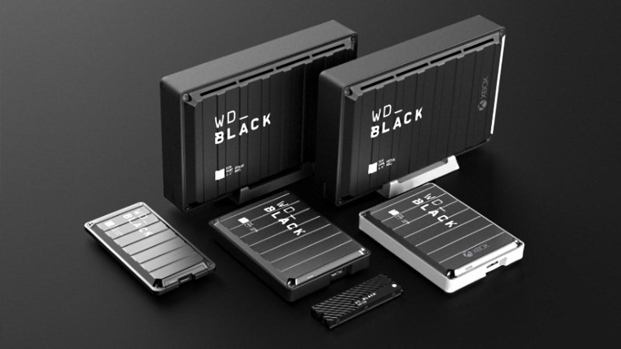 Western Digital, konsollar için WD_Black serisini tanıttı