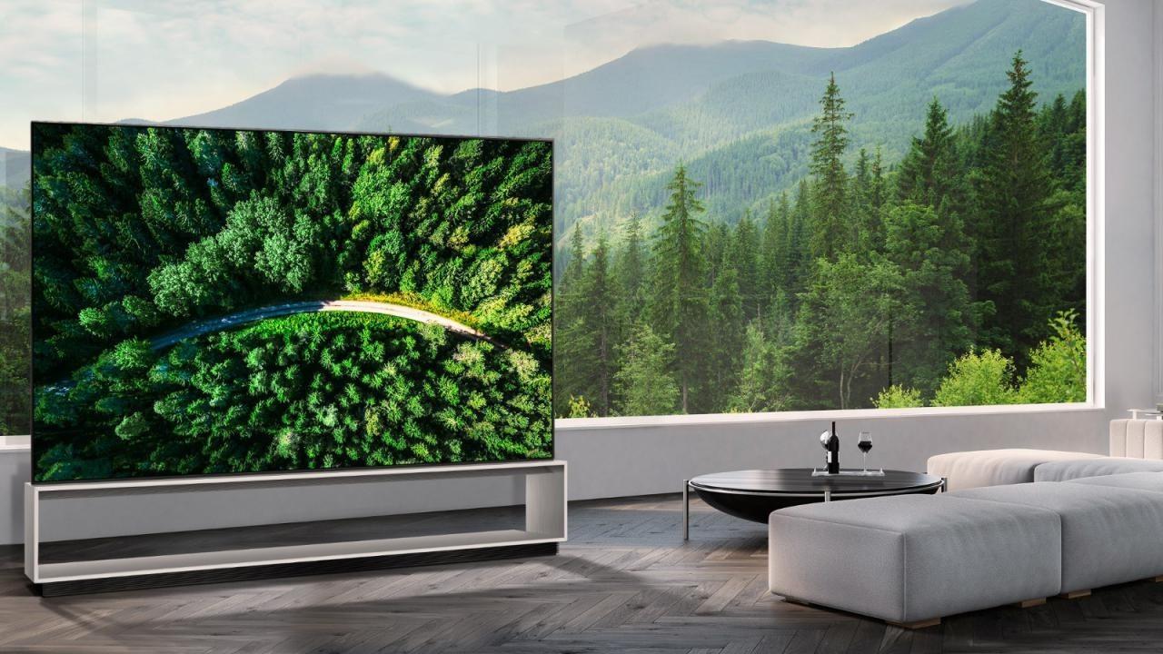 LG Dünyanın ilk 8K OLED TV'sini piyasaya sunuyor!