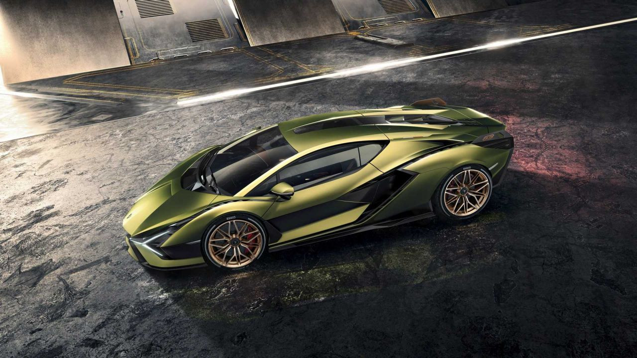 Lamborghini'nin ilk elektrikli aracı Sian tanıtıldı! - Page 3