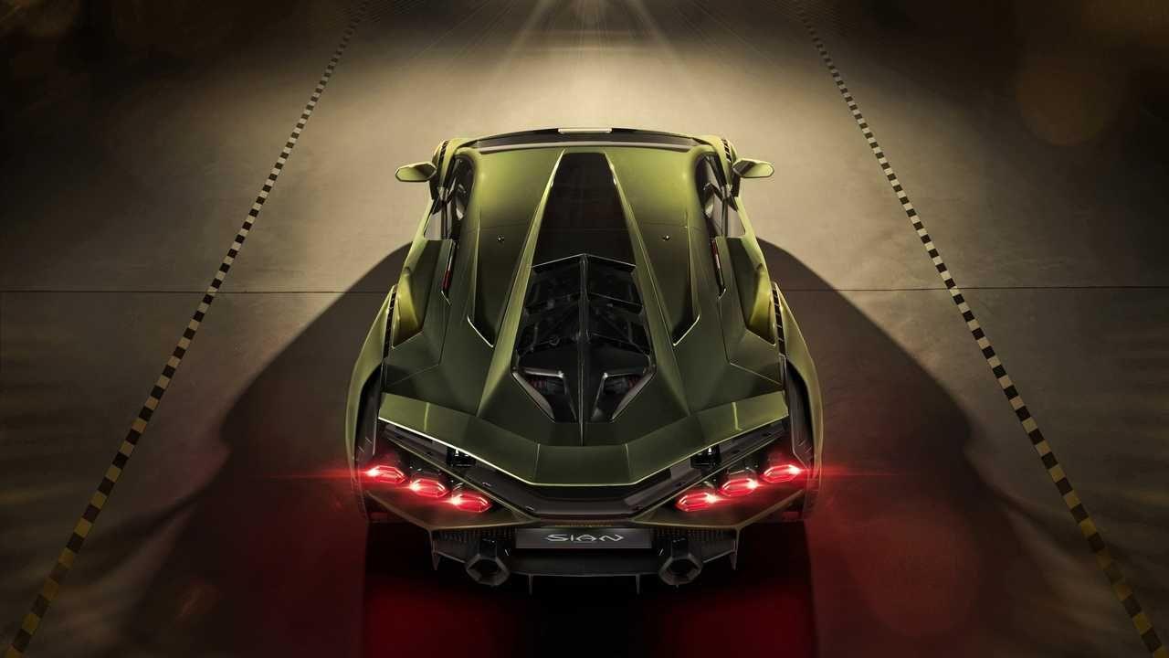 Lamborghini'nin ilk elektrikli aracı Sian tanıtıldı! - Page 4
