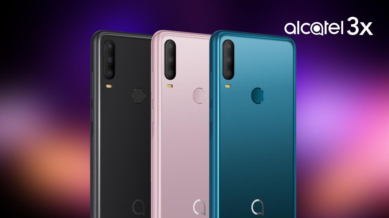 Alcatel 3X IFA 2019 kapsamında tanıtıldı!