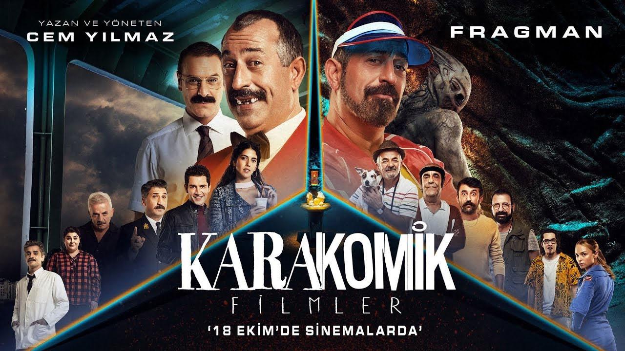 Cem Yılmaz'ın Karakomik Filmler serisinin ilk fragmanları geldi