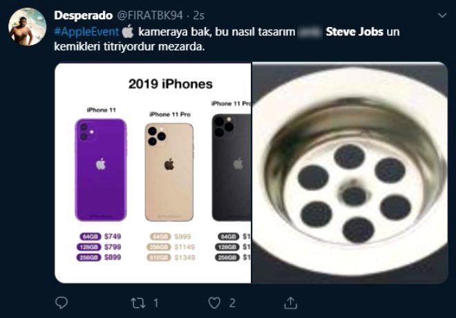 iPhone 11'in kamera tasarımı sosyal medyada alay konusu oldu! - Page 1
