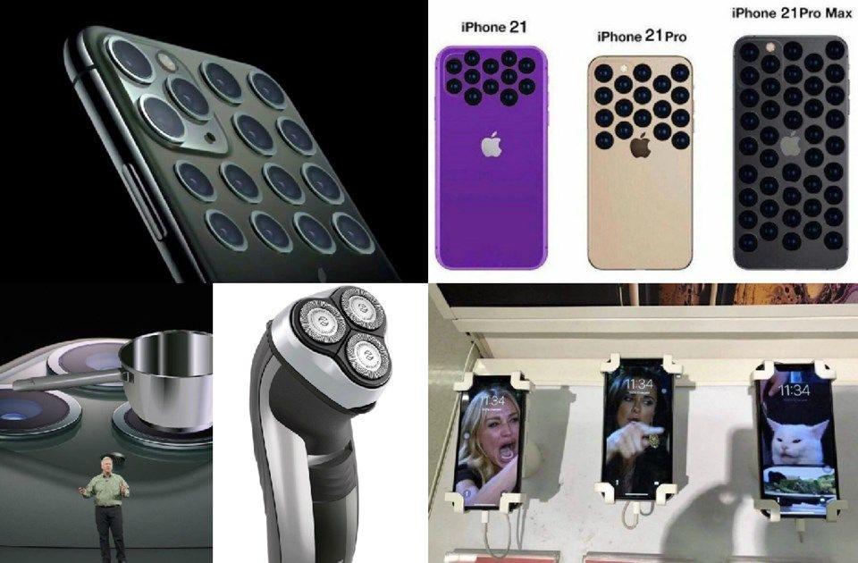 iPhone 11'in kamera tasarımı sosyal medyada alay konusu oldu! - Page 3