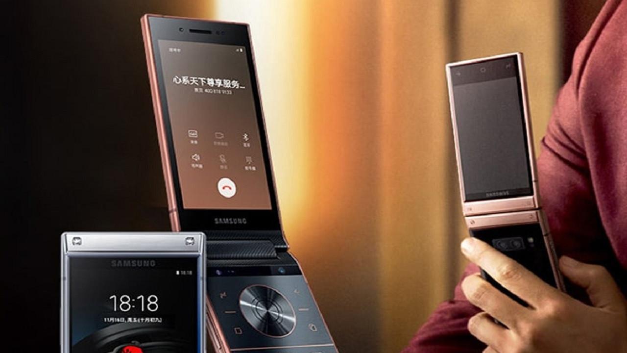 Kapaklı amiral gemisi: Samsung W20 5G geliyor!