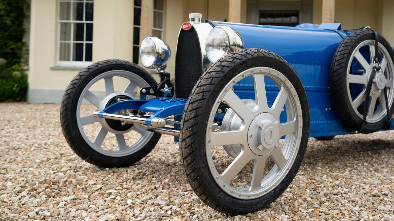 Bugatti'nin çocuklar için hazırladığı otomobili elektrikli Baby II - Page 4