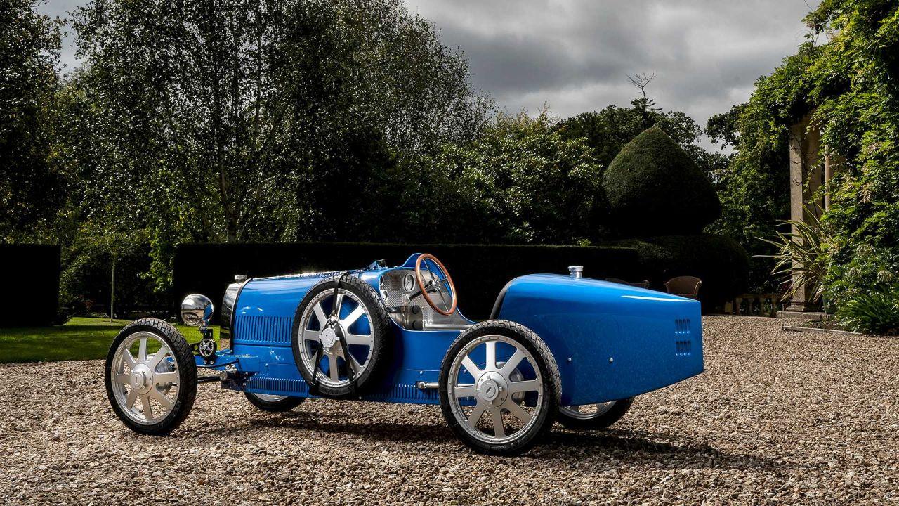 Bugatti'nin çocuklar için hazırladığı otomobili elektrikli Baby II - Page 3