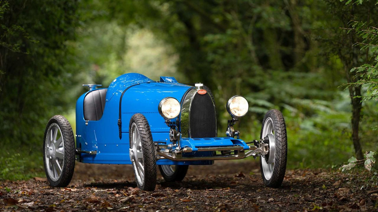 Bugatti'nin çocuklar için hazırladığı otomobili elektrikli Baby II - Page 2