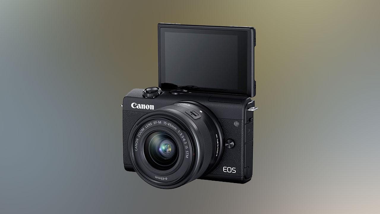 Giriş seviyesine yeni aynasız: Canon EOS M200