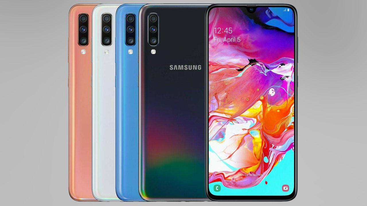 Samsung Galaxy A70s tanıtıldı