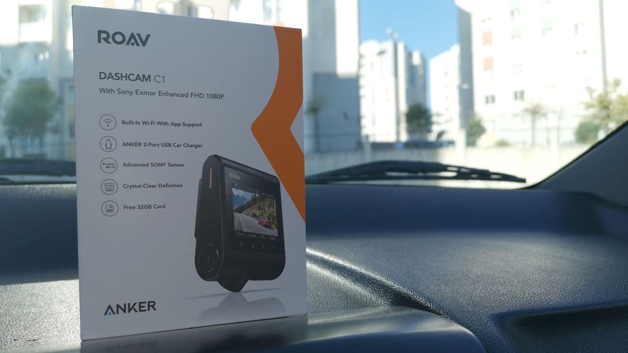 Anker Roav Dashcam C1 kutudan çıkıyor (video)