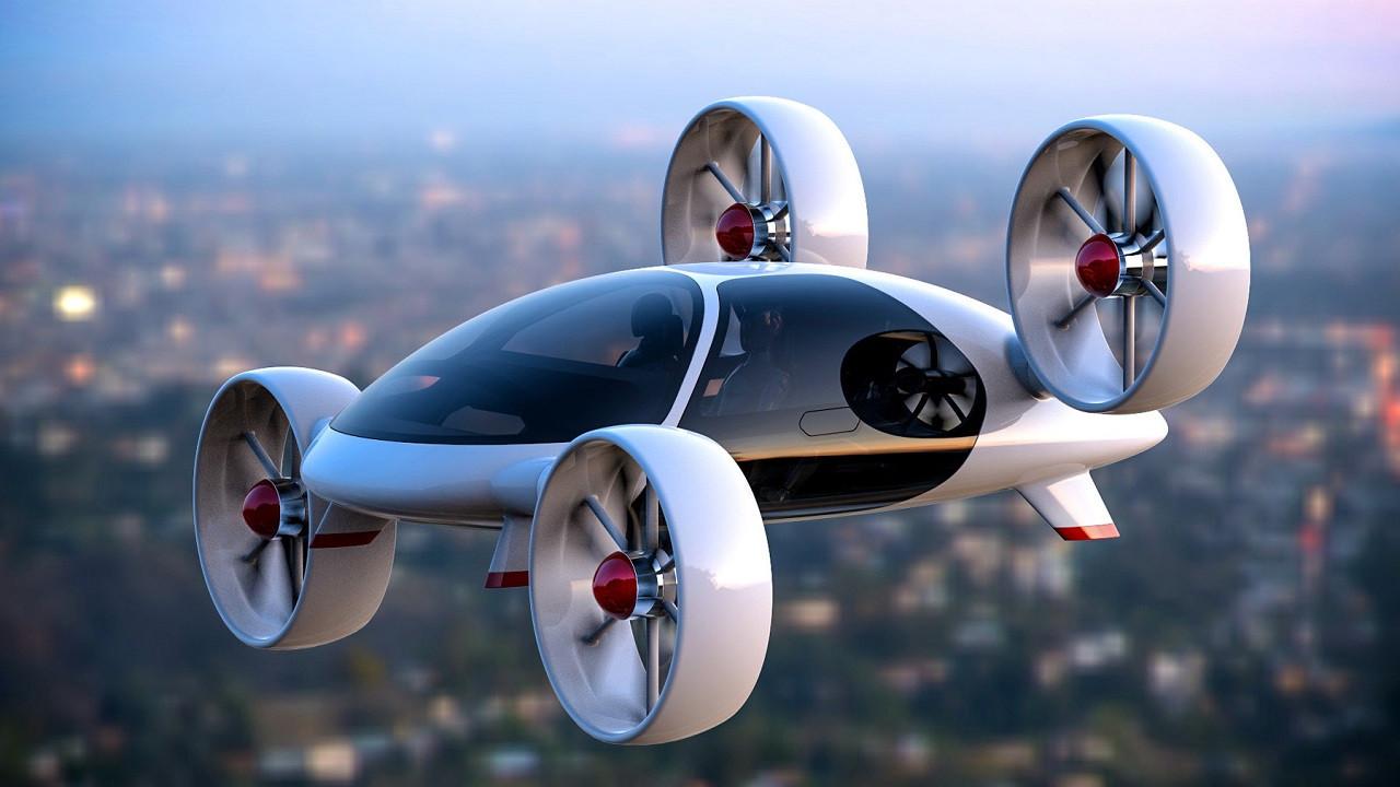 Hyundai uçan otomobiller için kolları sıvadı