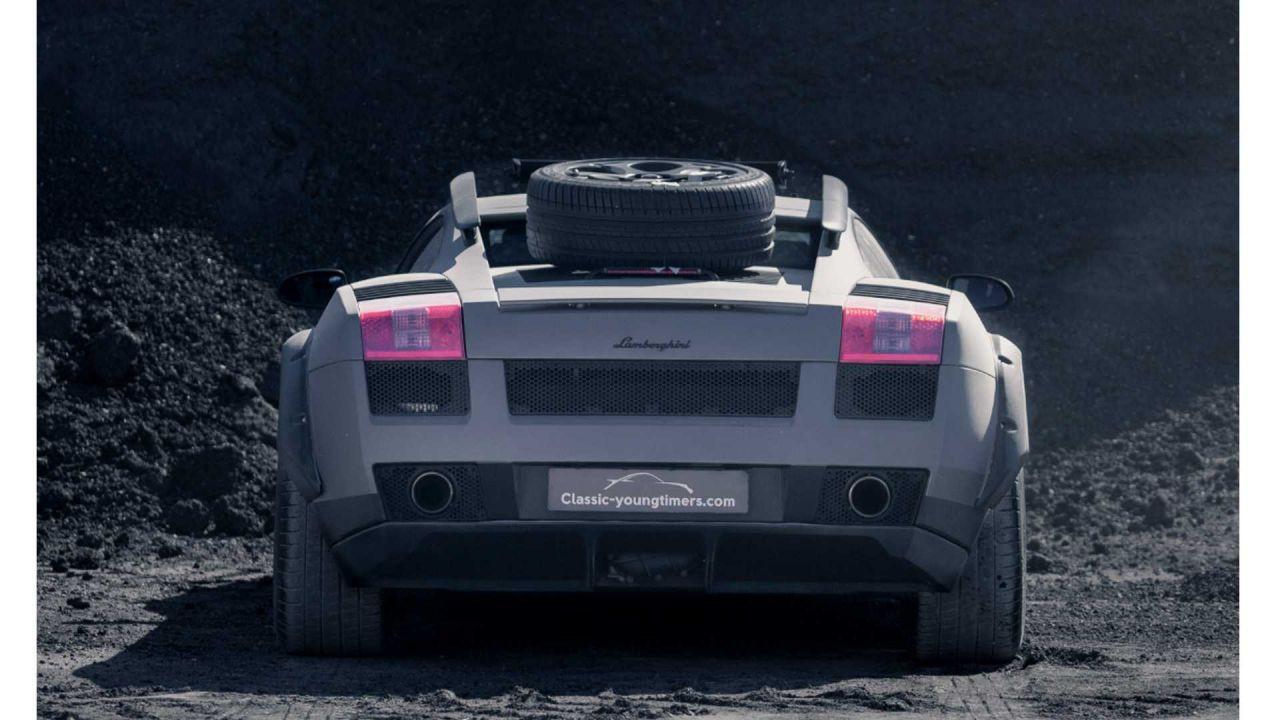 Lamborghini Gallardo arazi aracına dönüştürüldü! - Page 4