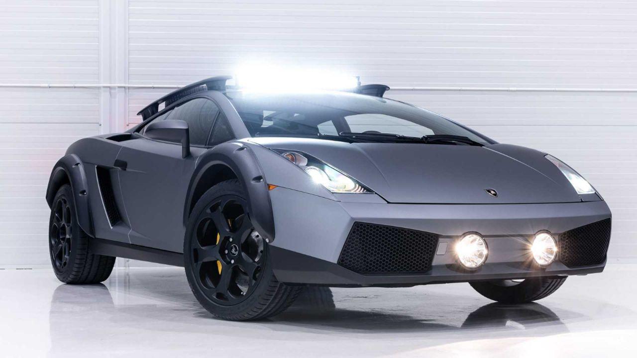 Lamborghini Gallardo arazi aracına dönüştürüldü! - Page 2