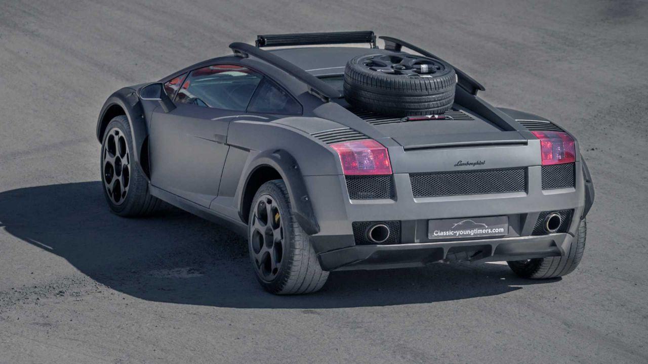 Lamborghini Gallardo arazi aracına dönüştürüldü! - Page 3