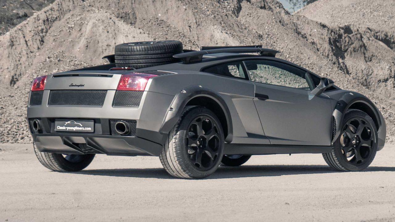 Lamborghini Gallardo arazi aracına dönüştürüldü! - Page 1