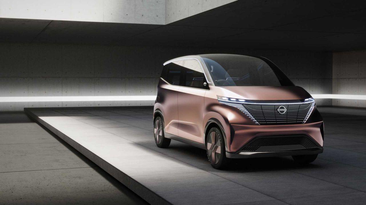 Nissan IMk Concept farklı tasarımı ile dikkat çekiyor - Page 1