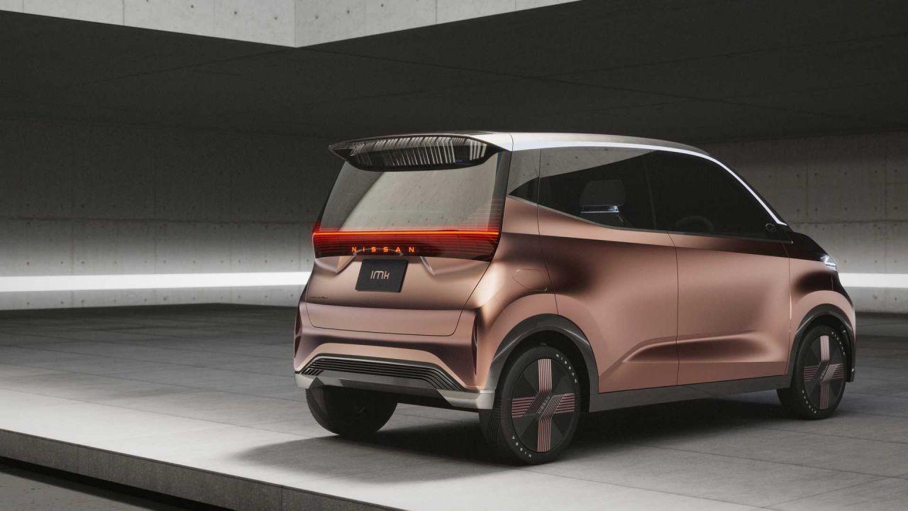 Nissan IMk Concept farklı tasarımı ile dikkat çekiyor - Page 2