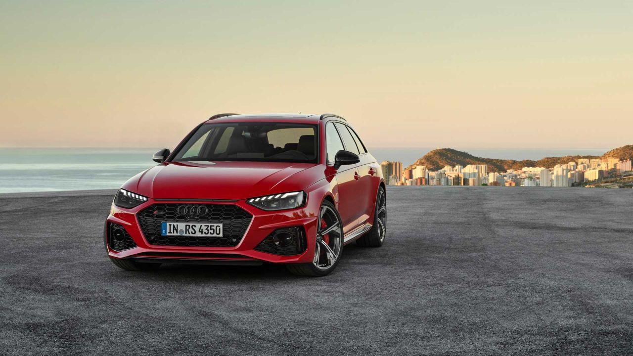 Makyajlı 2020 Audi RS 4 Avant kendini gösterdi - Page 1
