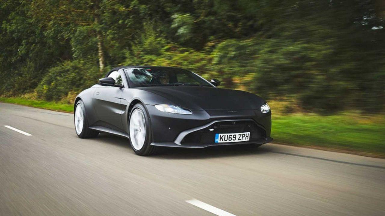 Aston Martin Vantage Roadster ortaya çıktı! - Page 3