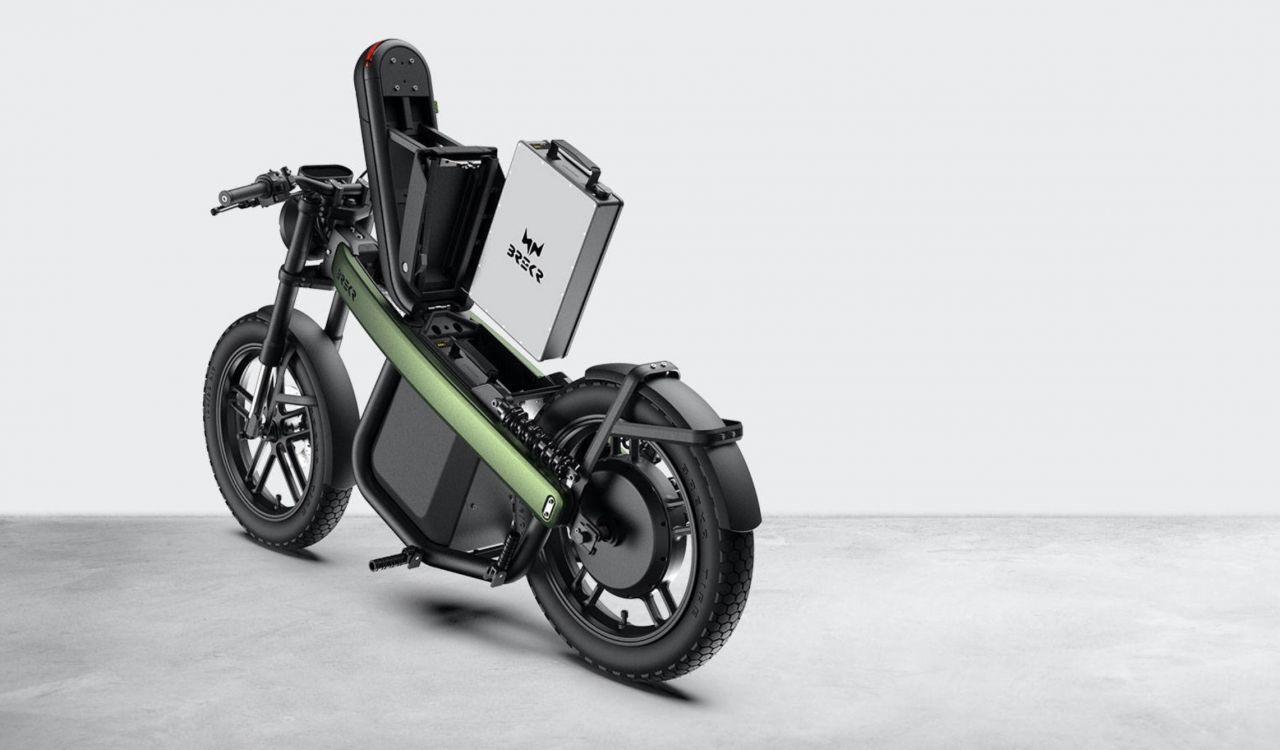 160 km menzilli elektrikli motosiklet: Brekr Model B - Page 4