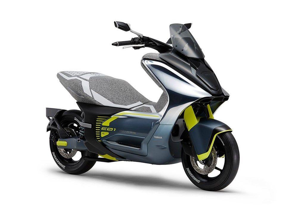 Yamaha'dan elektrikli modelleriyle gövde gösterisi! - Page 1