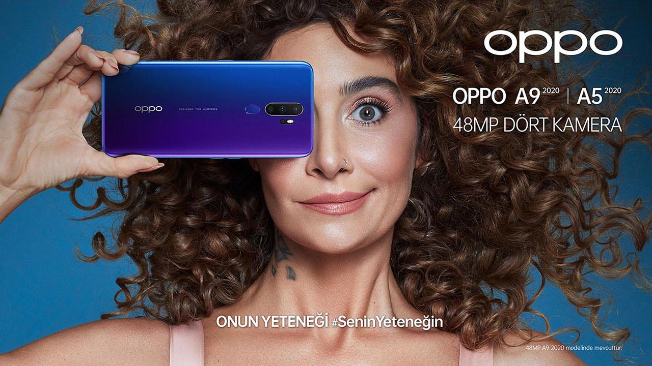 OPPO'nun reklam yüzü Sıla oldu