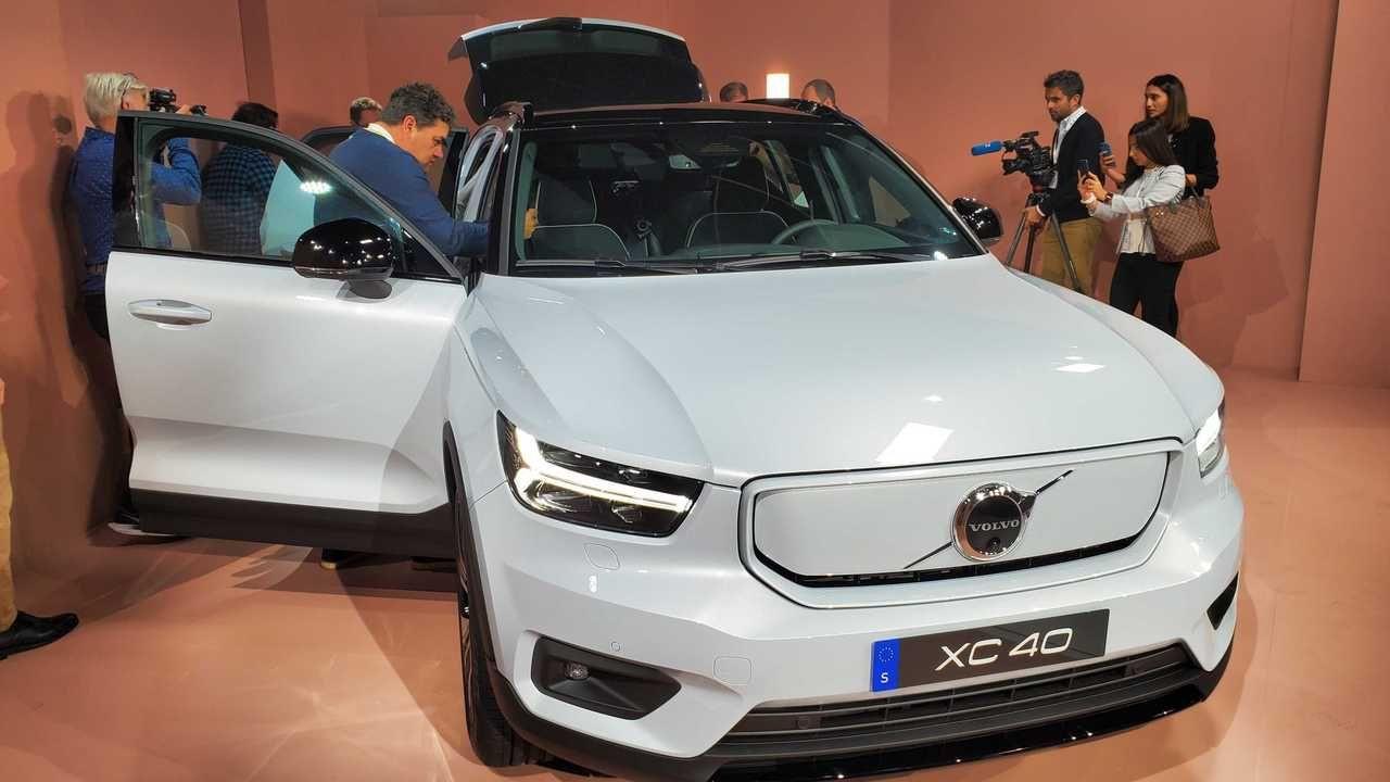 Volvo tam elektrikli modeli XC40 Recharge'ı tanıttı! - Page 1