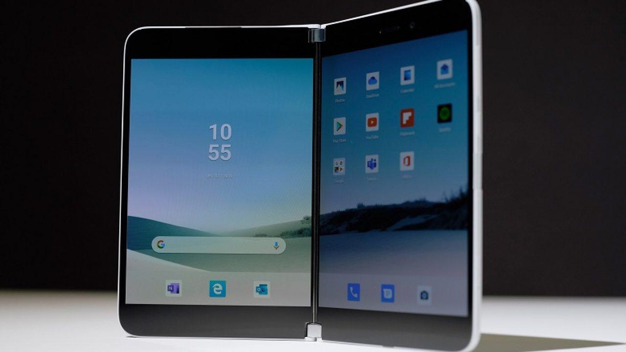 Surface Duo Android işletim sistemi ile gelecek