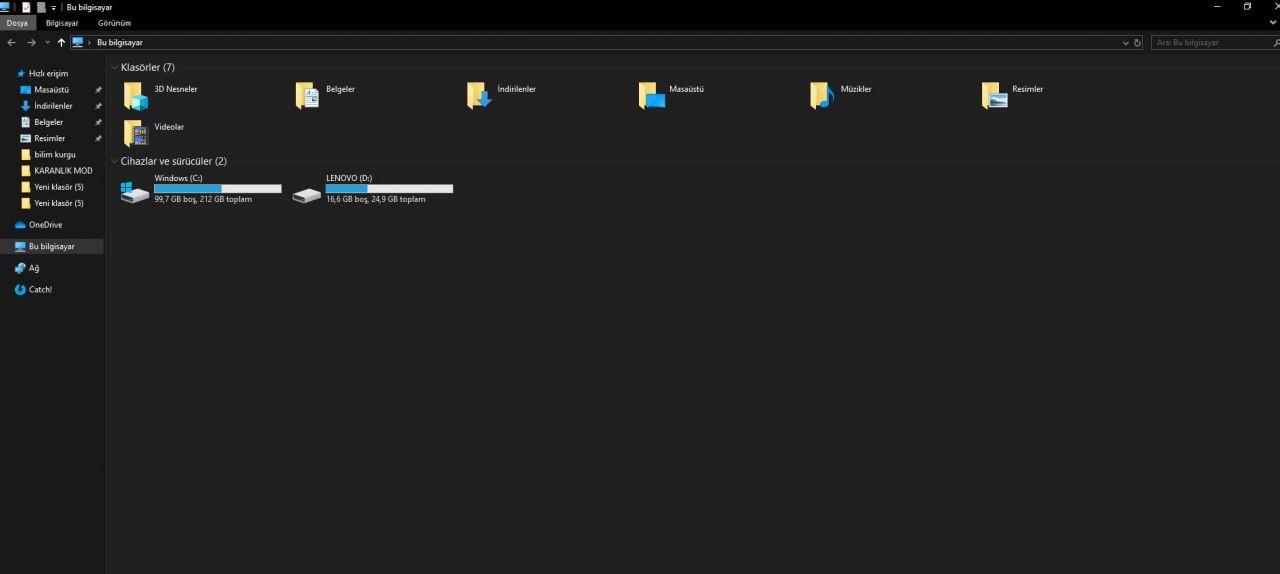 Windows 10'da karanlık mod nasıl aktifleştirilir? - Page 1