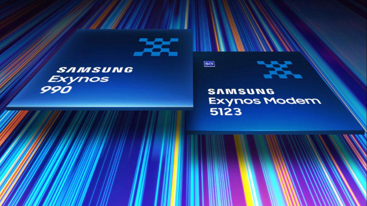 Samsung'tan yeni amiral gemisi işlemci: Exynos 990