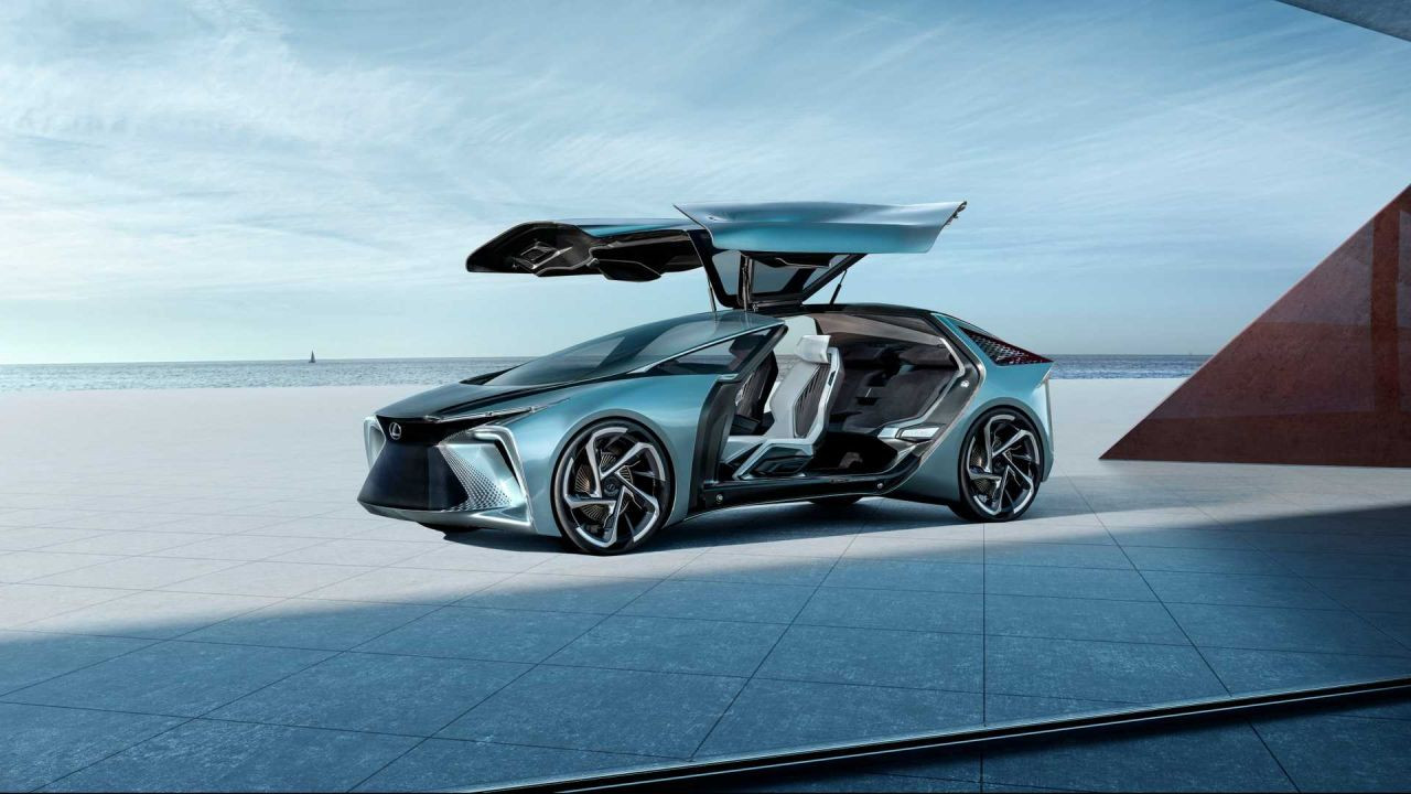 Geleceğin otomobili: Lexus LF-30 - Page 3